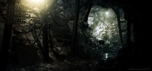 Shale Tunnel by Spex84