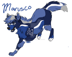 My new oc Marusco Fernand  [Base used] by SnowyJaldon