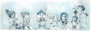 Snowballs by bamsicle