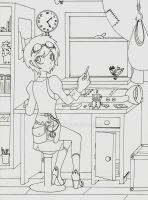 Home Workshop -OUTLINES- by aaamaaa