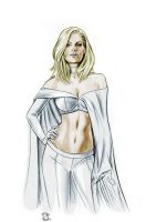Emma Frost by JasonPal by MrLively