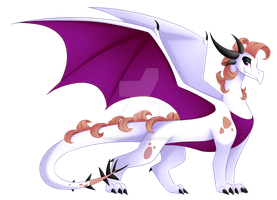 The Lemming King Dragon [C] by Scarlet-Spectrum