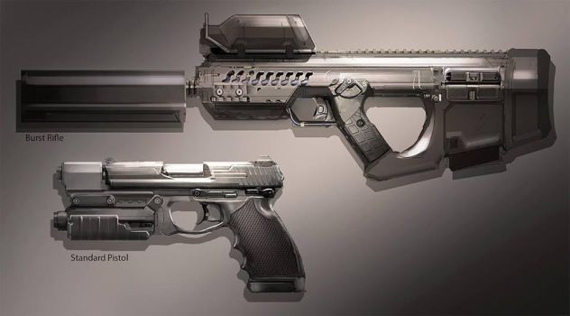 FUSE Weapons by MeckanicalMind