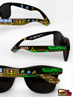 Legend of Zelda handpainted Sunglasses by Ketchupize