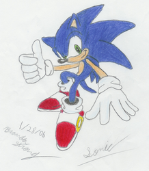Sonic The Hedgehog by Team94