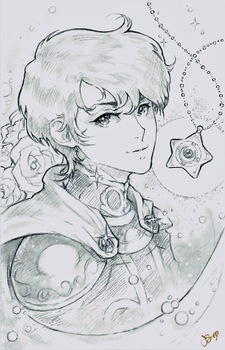 Prince Endymion Sketch Commission by Channel-Square