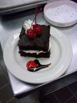 Black Forest Cake by Idoodlez