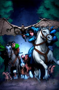 Wheel of Time cover issue 7 by NicChapuis