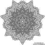 Krita Mandala 56 by WelshPixie