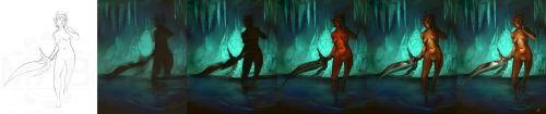Cave Process by DanHowardArt