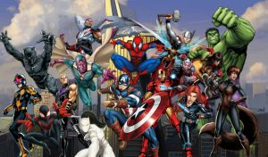 Avengers Assemble! by WB51417