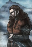 The Hobbit - Thorin Oakenshield by kiwii