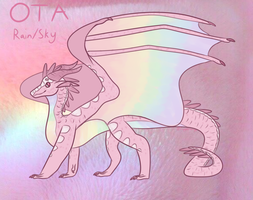 Aesthetic WoF Adopt (Rain/Sky| Closed) by CopperWingz