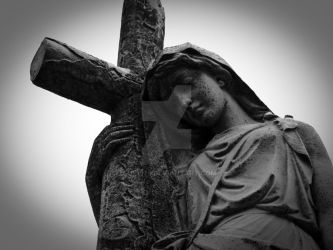 Holding a cross by Sue1979