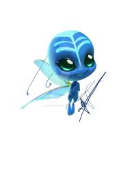 June dragon fly Kwami design by rockangel2410