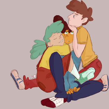 Cmap Kids Pile by MagicCanbeFound