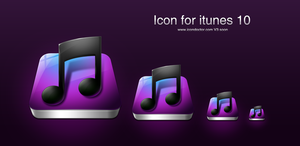 Icon for itunes 10 by icondoctor