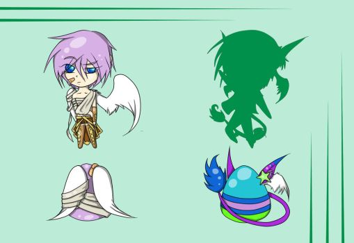 Mystery Egg Adopt 2 (1/2) (CLOSED) by NobleTanu