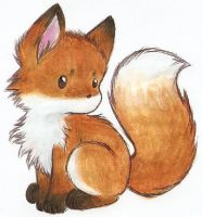 little fox by Liedeke