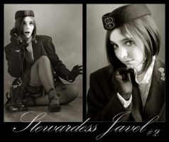 Stewardess Javel 2 by benztown