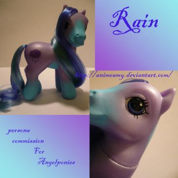 Rain Persona for Angelponies by AnimeAmy