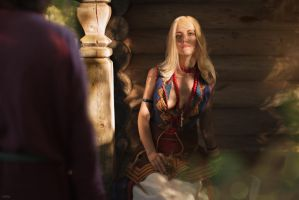 Keira Metz / COSPLAY WITCHER 3 by Lyumos