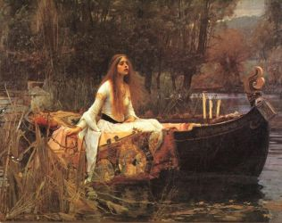 The Lady of Shallot Waterhouse by Children7