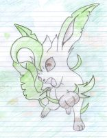 Lovely Leafeon by XxPaperLacexX