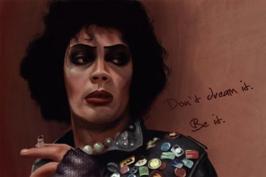 Sweet Transvestite Tim Curry by altharis