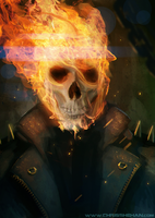 Ghost Rider by ZhouRules