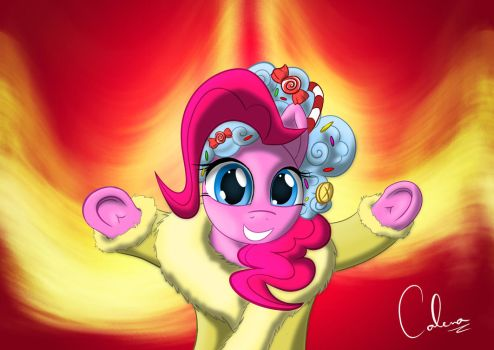 A Hearth's Warming Pinkie Pie by Calenita