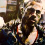 Tyler Durden Painting by kevinsbrush