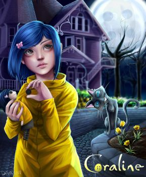Coraline by IDamiant