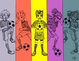 Inazuma All Star by fung0001