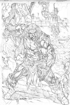 Greywullf promo 1 pencils sharpe by Kevin-Sharpe