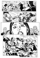 New Warrior issue 18 page 1 in by luisalonso
