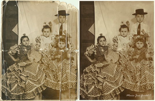 Photo restoration by CrisestepArt