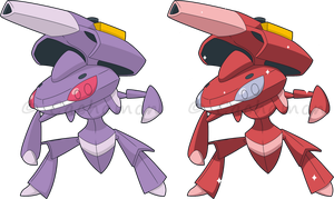 +649 - Genesect+