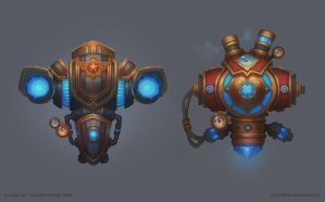 Decorative Engineer Devices by Grey-Seagull