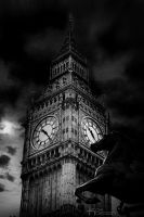 Big Ben in Black and White by haz999