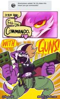 Ask MAiZ: Commando Vix by SupaCrikeyDave