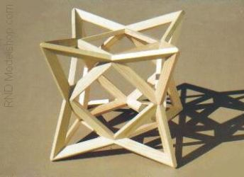A Cube of 8 Tetrahedron by RNDmodels