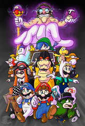 Mario Convention gone wrong! by BoxBird