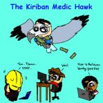 The Kiriban Medic Hawk by Hedgehogyawn