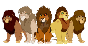 The First Lion Guard by ChippySmurf