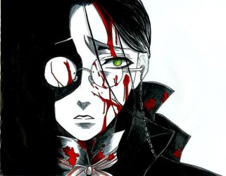 grell aka 'jack the ripper' by stealingdreams