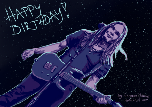 Happy Birthday, Teemu Mantysaari! by Greyrose-Madness