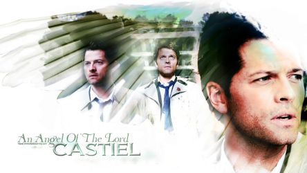 Supernatural: Castiel by hazelxxx