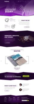 Empire Free Psd Template by Grafreez