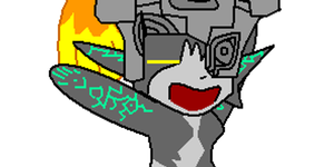 Midna Dancing - Flash by Luifex